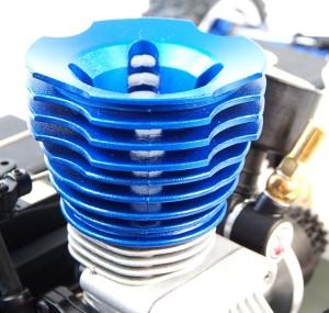 afstellen van de nitro rc motor