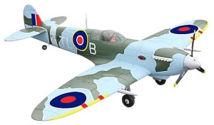 spitfire rc vliegtuig  inklapbaar landingsgestel kopen