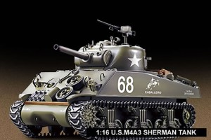 US Sherman M4A3 1/16 rc tank Heng Long