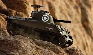us sherman M4A3 rc tank kopen