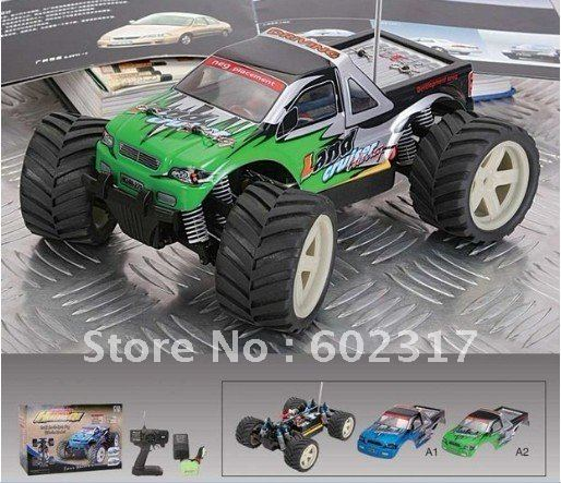 4WD 1:18 Scale Remote Control Electric Off Road Monster Truck Big