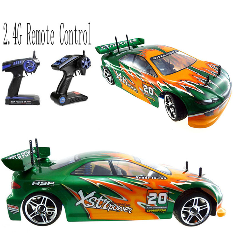 Cool Rc Car 4wd Nitro Gas Power 1/10 Scale Models On Road