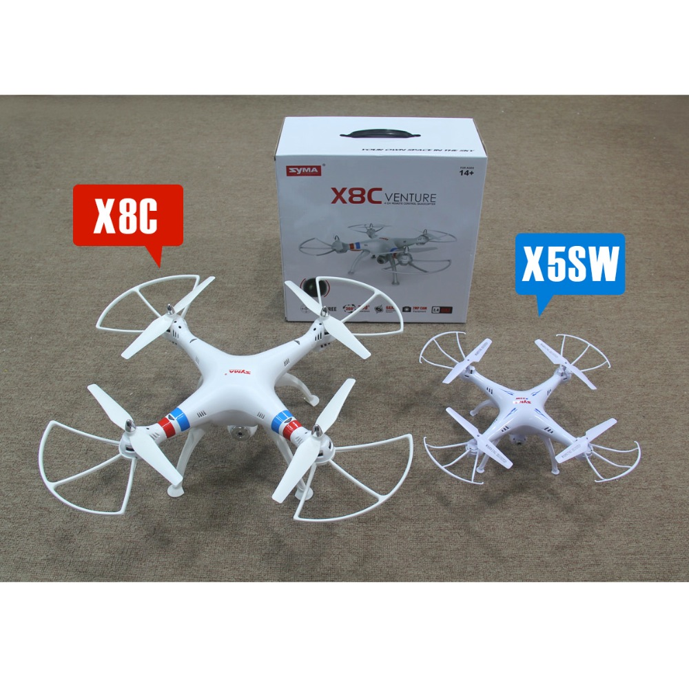 Syma X8w Fpv Rc Quadcopter Drone With Wifi Camera 24g 6axis Dron X8c Venture 4ch 24ghz 2 Mp Full Hd White 2mp Rtf Helicopter Battery Vs X101 Gallery Desc