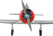 AT-6 Texan RC oorlogsvliegtuig 4 kanaal RTF 2.4GHz met inklapbaar landingsgestel