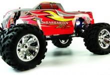 Barbarian NXL RTR nitro rc monster truck