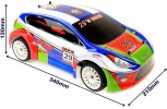 Shadow RC Rally Car schaal 1:16 perfect voor de monte carlo rally