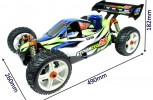 Review: GS Racing Storm Evo 25 RC Nitro Buggy schaal 1 op 8