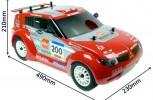 Nitro RC Rally Mitsubishi Pajero Conqueror Nitro Rally Truck